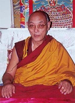 choden rinpoche buddhist monk
